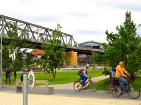 Antiga ferrovia vira parque urbano em Berlim: conheça o Gleisdreieck