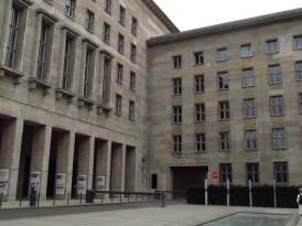 Antigo prédio da Luftwaffe
