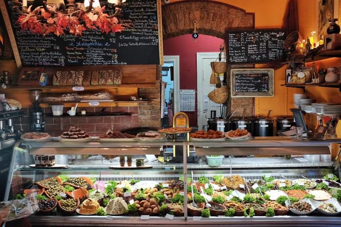 Balcão do Café Weinblatt- ©Lucas Reis