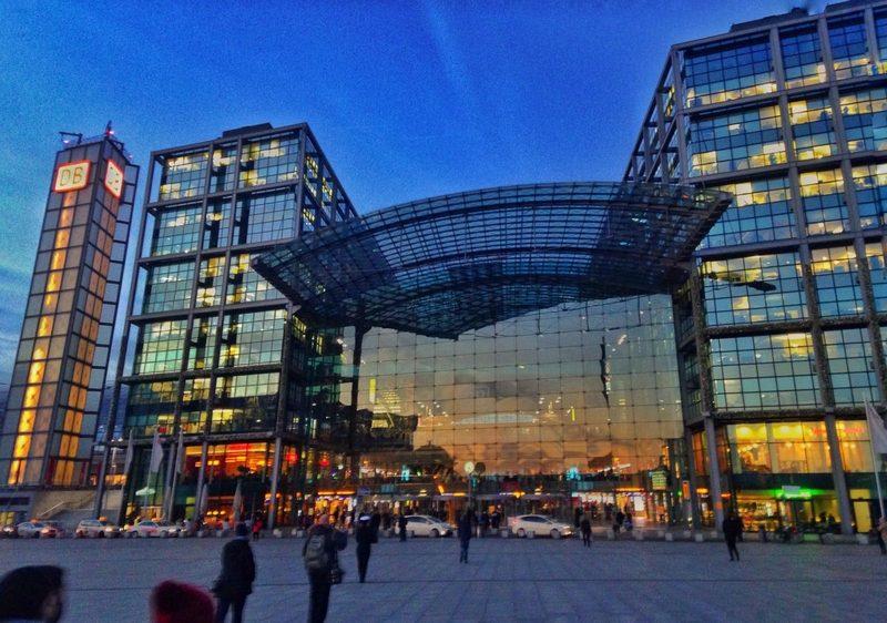 réveillon em Berlim - estação central - agendaberlim