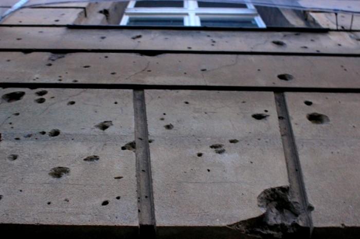 Marcas que a segunda guerra mundial deixaram na cidade