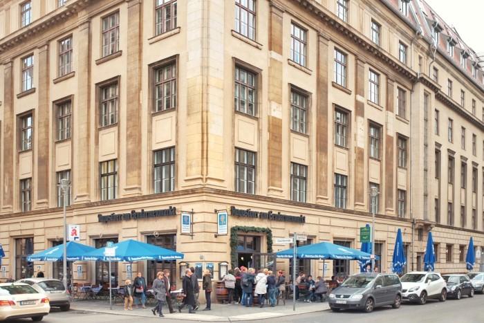 Comida alemã em Berlim - Augustiner Foto Lucas Reis