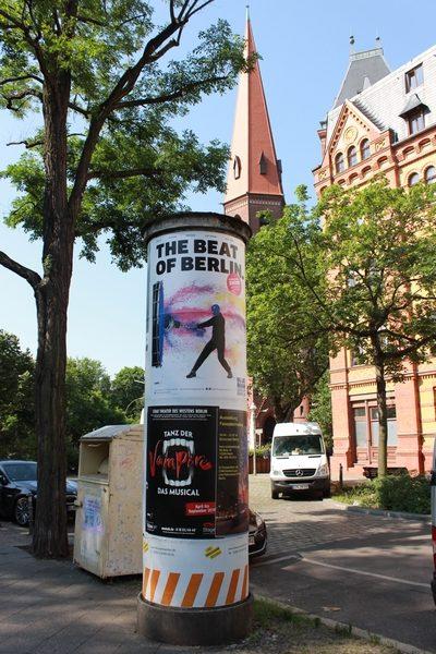 Berlim Berlin Littfasssäule