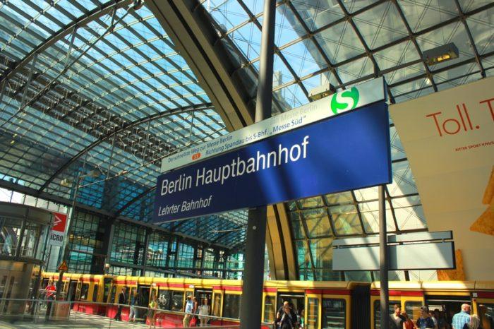 Estação central de Berlim - Hauptbahnhof - ©Agenda Berlim