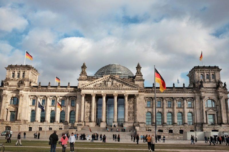 O Parlamento Alemão pelo amigo Lucas Reis