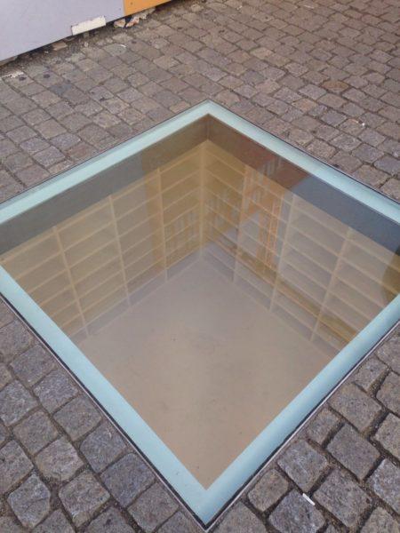 Memorial dos livros queimados Berlim Nazista