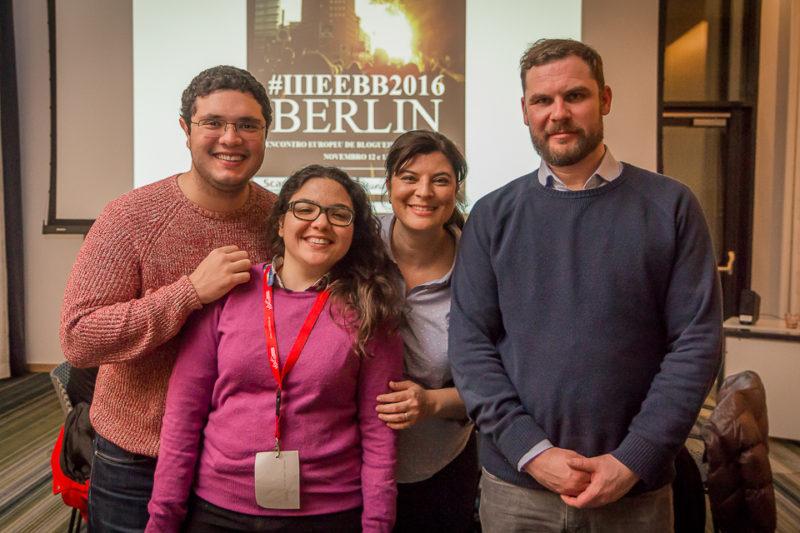 Os organizadores e Kai, representante do Scandic (©Felipe Minnicelli)