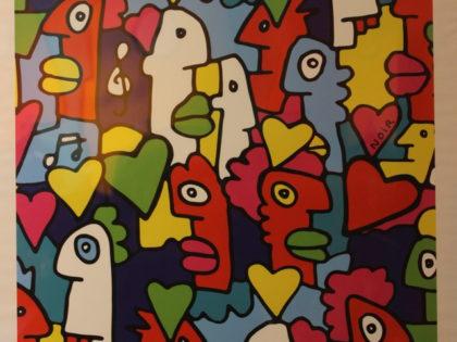 Thierry Noir – um artista símbolo do muro de Berlim