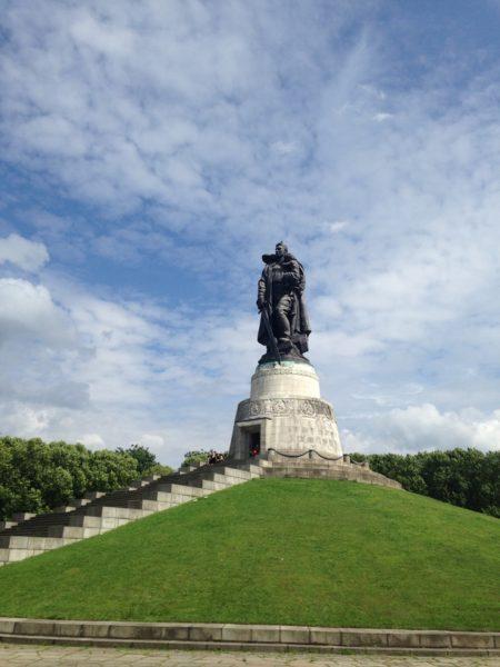 memorial sovietico berlim