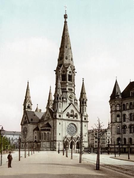 igreja da memória berlim ruinas da segunda guerra
