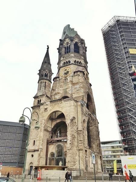 igreja da memoria ruinas da segunda guerra berlim