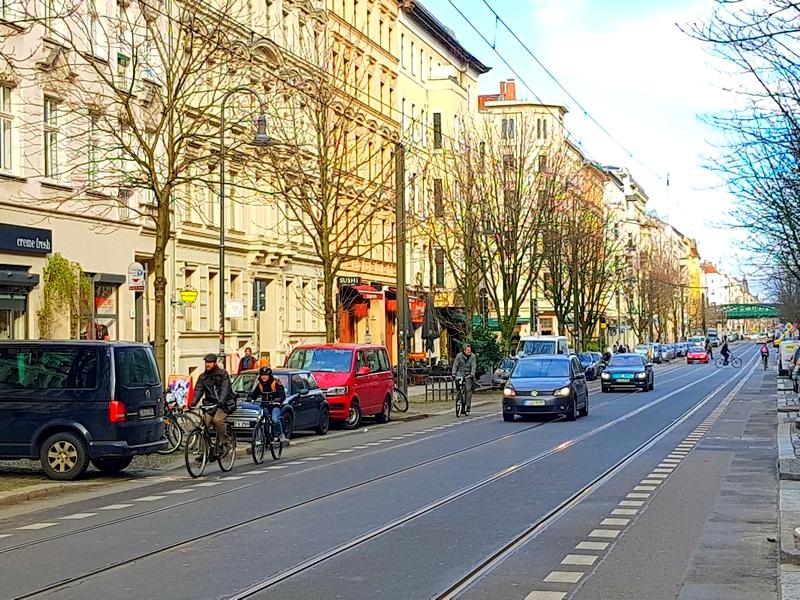 Prenzlauer berg berlim berlin bairros Kastanienallee