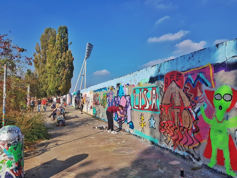 Prenzlauer berg berlim berlin bairros Mauerpark muro de Berlim